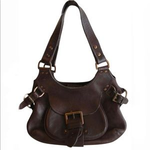 AUTHENTIC MULBERRY Phoebe Shoulder Bag Leather